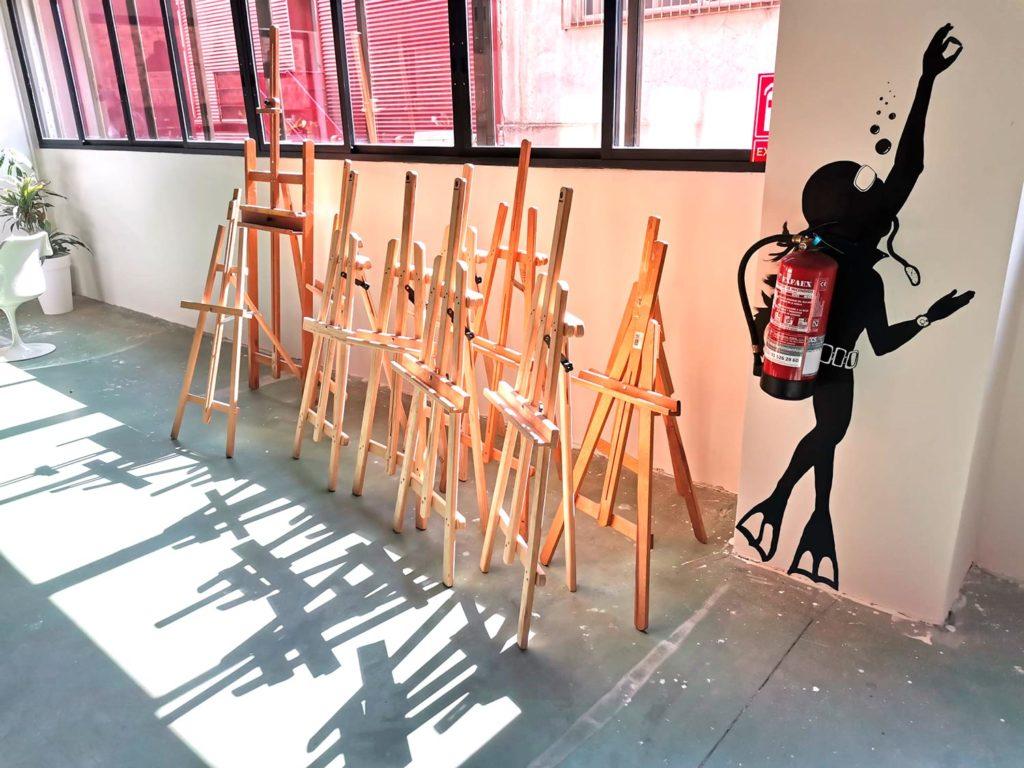 El Sitio S - Taller arte infantil - Madrid