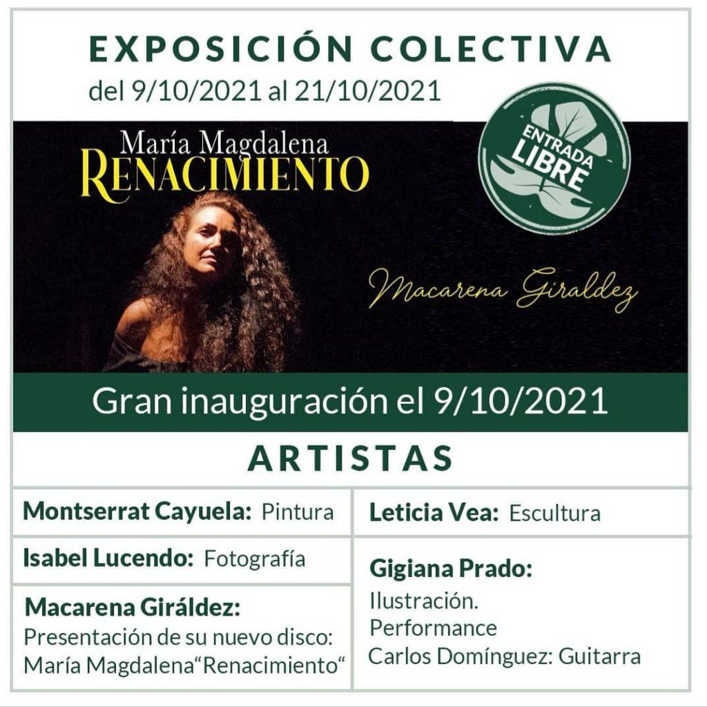 Exposicion colectiva creatices